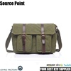 YD-2156 Durable Vintage canvas leather messenger bags man shoulder cross body bag