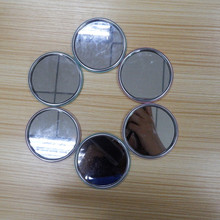 Stainless steel round mirror pocket mirror make up mirror