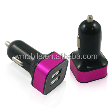 Universal Car Cigarette Socket 5v 2.1a Dual USB Car Charger