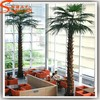 All types of decorative indoor fake plants stlylized tropical metal artificial palm tree