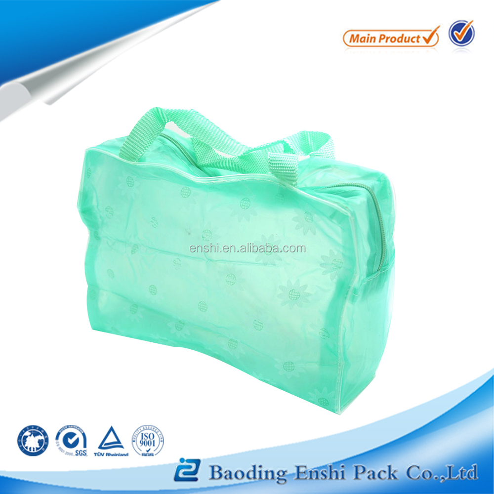 Plastic,0.3mm pvc Material and Promotion Industrial Use clear plastic cosmetic bags