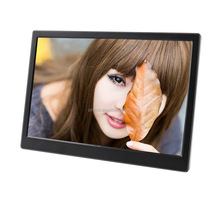 full function android wifi bluetooth 8gb memory 1080P video auto play tempering glass touch screen digital photo picture frame