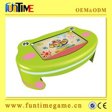 Education video game machine with touch screen / kid learning machine