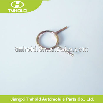 no bending spring steel cross wire rope clip