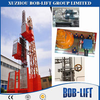Double or Single Cage Best Price Mechanical Hoist Construction Machinery