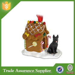 China Factory New Resin Christmas Dog Item