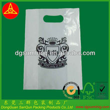 PE Plastic Bags die cut bag Shopping Package