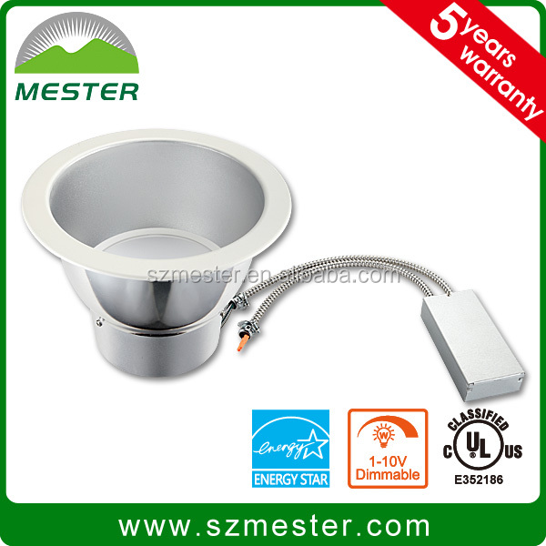 25W 50W high quality ES UL 8 inch LED can light recessed light
