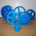 Customized A type and B type fixed pulley for motor or tractor