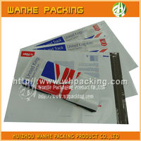 Self adhesive plastic clothing bag