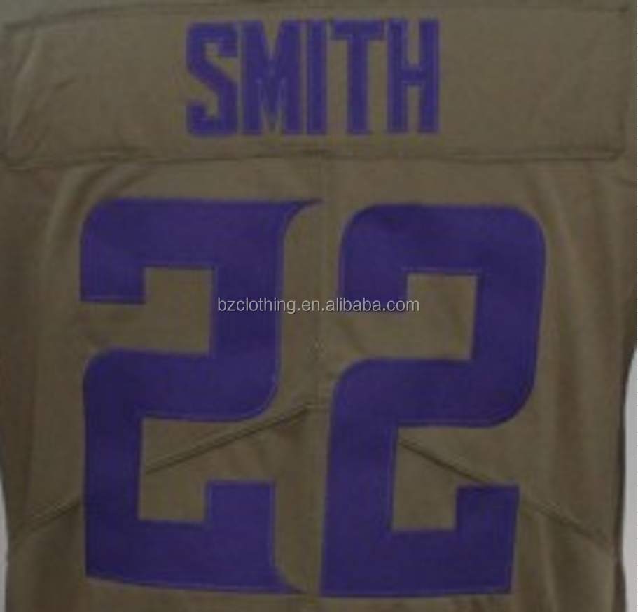 2017 Harrison Smith #22 Olive Salute To Service Stitched Football Jersey