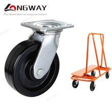 Heavy duty industrial castor wheel high temperature resistant phenolic swivel caster