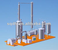 JL-1 used motor oil recycling machine capacity 6 tons per day with CE and ISO