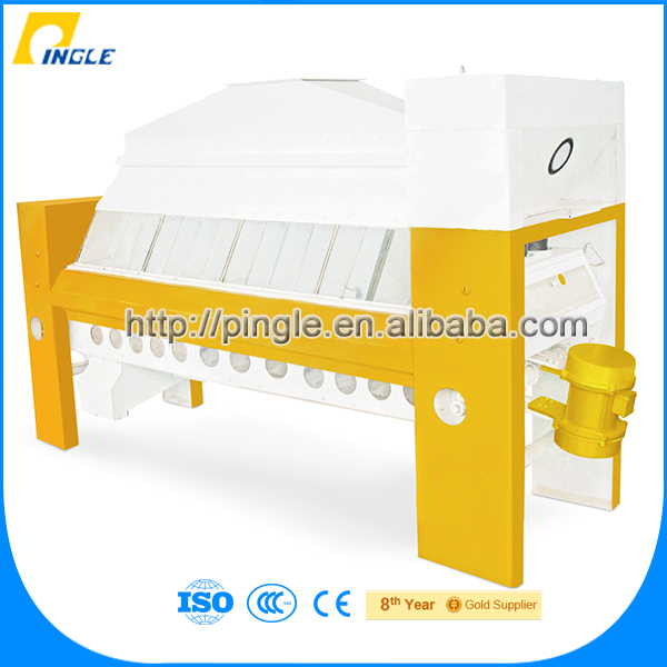 Double-bin plansifter flour mill machinery corn/maize grinding plant for sale