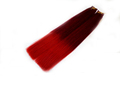Best Quality 100% Remy Hair Red Ombre Tape Hair Extension