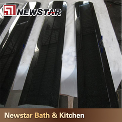 Design Natural Black Granite Door Threshold