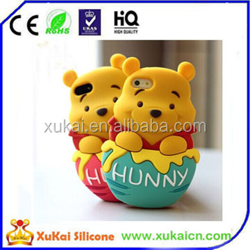 honey bear silicone case of phone