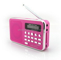 portable speaker support usb and fm radio