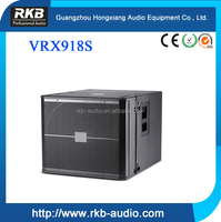 VRX918S professional speaker 18 inch subwoofer box design