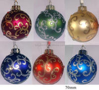 New Design High Quality Plastic Christmas Ball For Decoration