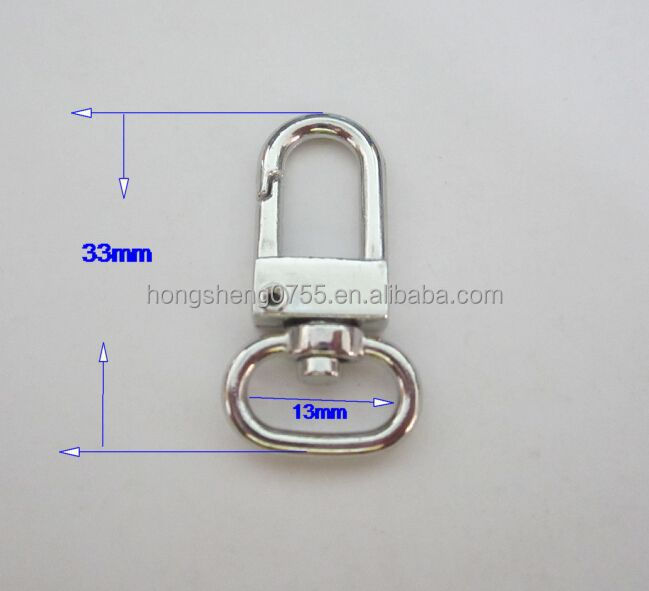 Cheapest mini swivel snap hook for keychain