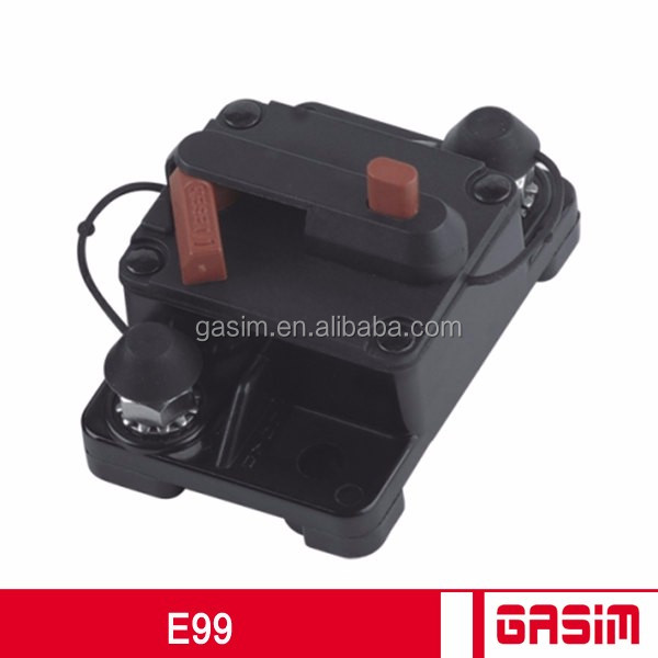 150Amp 48V Manual Reset Car Circuit Breaker Fuse Holder <strong>Ignition</strong> Protected