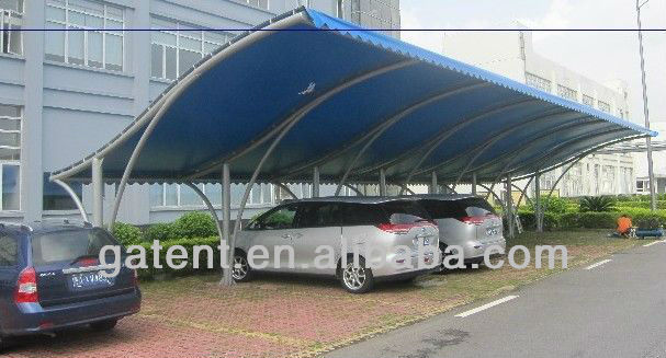 Carport Membrane Structure Tent with Blue Membrane