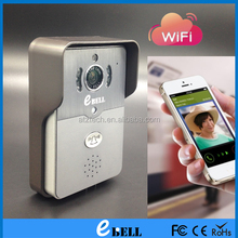 Smart WiFi Doorbell Wireless IP Intercom Interphone Peephole Camera Video Door Bell Unlock Alarm Door