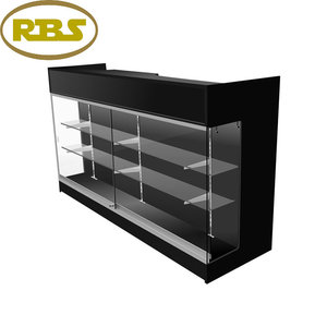 High quality alibaba china environmental and practical display cabinet showcase