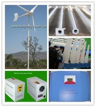 3kw wind turbine off grid/on grid with CE certified