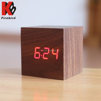 Variety of color optional mix wholesale cube clock