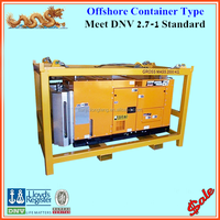 10ft 20ft ISO open frame equipment container