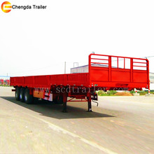 40 ton loading side wall semi trailer for carrying all kinds of goods and cargo trailer