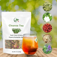 Super Nature Organic Colon Body Detox Cleanse Detox Tea Chinese Fitness Herbal Colon Cleanse Tea