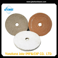 High performance sisal polishing buff, buffing wheel, stainless steel buffing wheel