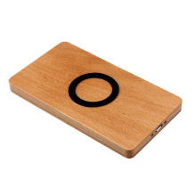 Environmental Wooden Wireless Charger for handPhones in wood material