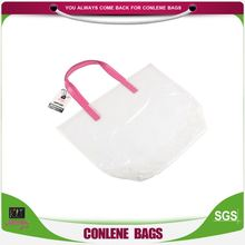 High performance OEM design white transparency foldable shopping tote bag