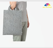 China wholesale fashion women custom made felt laptop bag