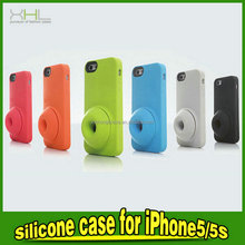 Favorable price new design cheap silicon case for iphone5 5S