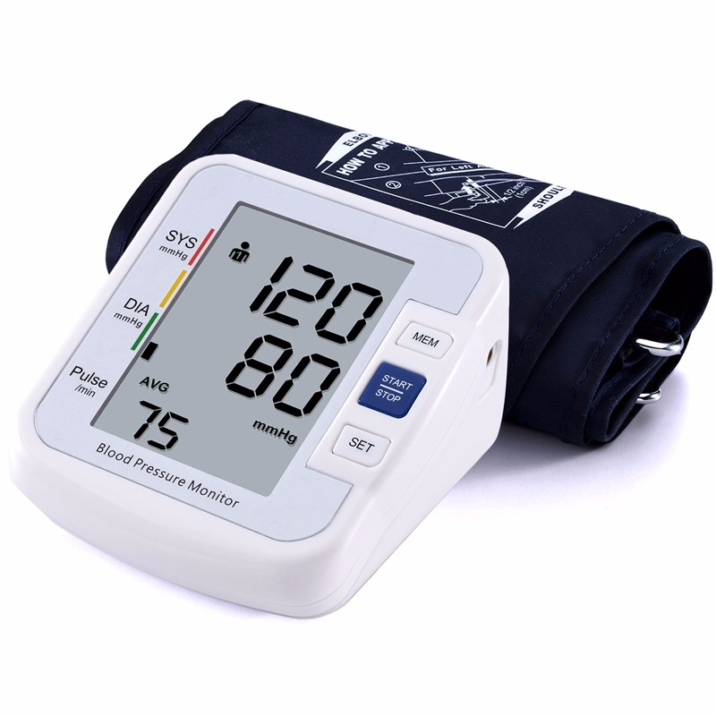 Best selling products for elderly home use digital blood pressure monitor for high blood pressure measurement