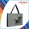 China supplier square bottom pp woven shopping bag