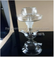 alibaba france hot sale glass hookah, smooth e hookah