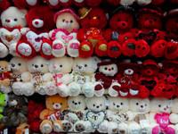 Soft plush teddy bear , online soft custom toy ,mascot soft toy