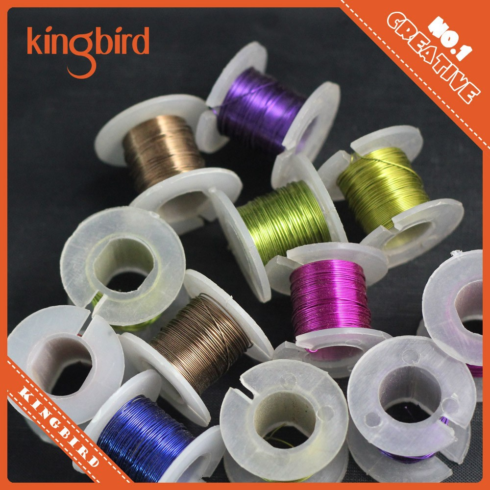 12p Spools Copper Metal Wire Carft Jewelry Finding DIY 0.3/0.4/0.5 mm