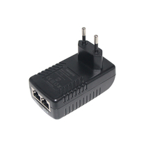48V 0.5a 10/100Mbps Passive POE <strong>injector</strong> 30W power over ethernet for network