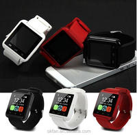 2016 Top selling metal bluetooth Smart wristwatch factory price android 4.0 Smart Watch U8