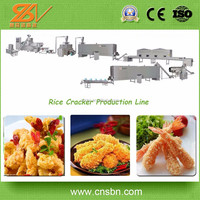 Efficient Automatic Extruder Technology Making Equipment Japanese Bread Crumb Processing Line