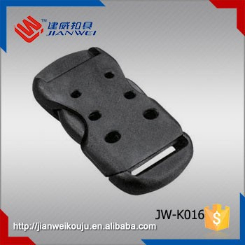Plastic side release buckle , plastic insert buckle for bag JW-K016