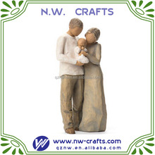 resin willow tree figurine family - we are three