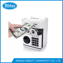 Cartoon Electronic Password Piggy Bank Cash Coin Can Electronic Money Bank BOX